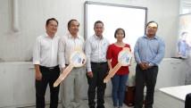 Buổi rút thăm trúng thưởng lần 2 và trao giải lần 1 chương trình Khuyến mãi Vi vu Vision cùng HTVC