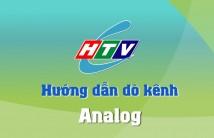 Hướng dẫn dò kênh Analog trên hệ thống truyền hình cáp HTVC