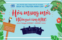 Hòa mạng mới – nhận quà cùng HTVC