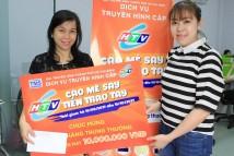 """HTVC trao thưởng đợt 2 chương trình Khuyến mại """"HTVC – Cào mê say, tiền trao tay"""""""