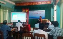HTV TMS bàn giao tài khoản và hướng dẫn sử dụng chợ tin tức tại Bình Thuận