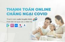 Thanh toán cước Truyền hình HTVC qua các ví điện tử
