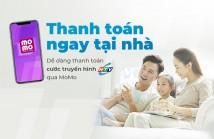 Thanh toán cước Truyền hình HTVC qua Ví điện tử MoMo