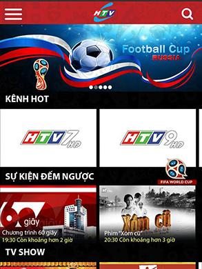 HTV trực tiếp 64 trận đấu của World Cup 2018
