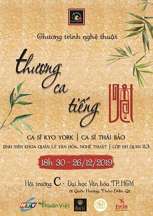 """""""Thương ca tiếng Việt"""" – Lan tỏa tâm hồn Việt"""